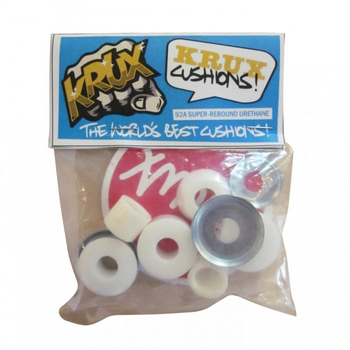 Krux Trucks Bushings Worlds Best 92a Standard White