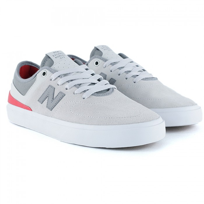 New Balance Numeric 379 Grey Red Skate Shoes