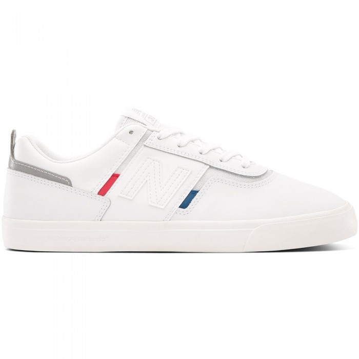 New Balance Numeric 306 Foy White Red Blue Skate Shoes
