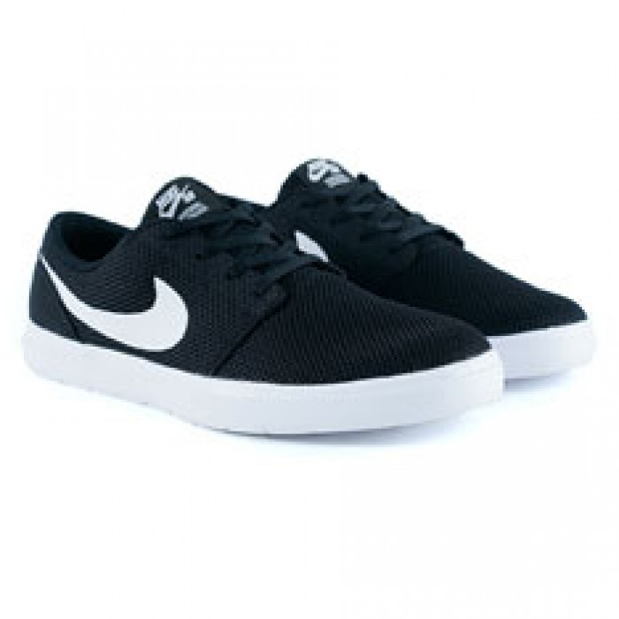 Nike Sb Portmore II Ultralight Black White Trainers