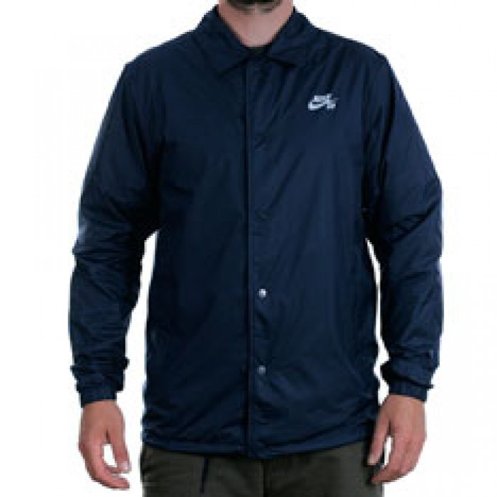 Nike Sb Shield Coach Jacket Hydrogen Blue White