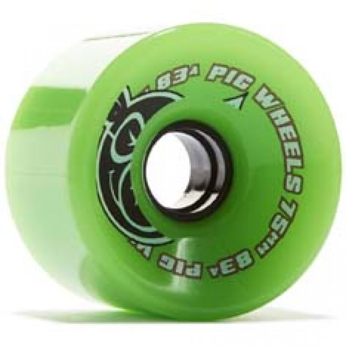 Pig Voyager Cruiser Skateboard Wheels Green 75mm