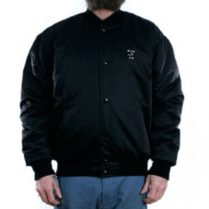 Polar Skate Co College Jacket Black