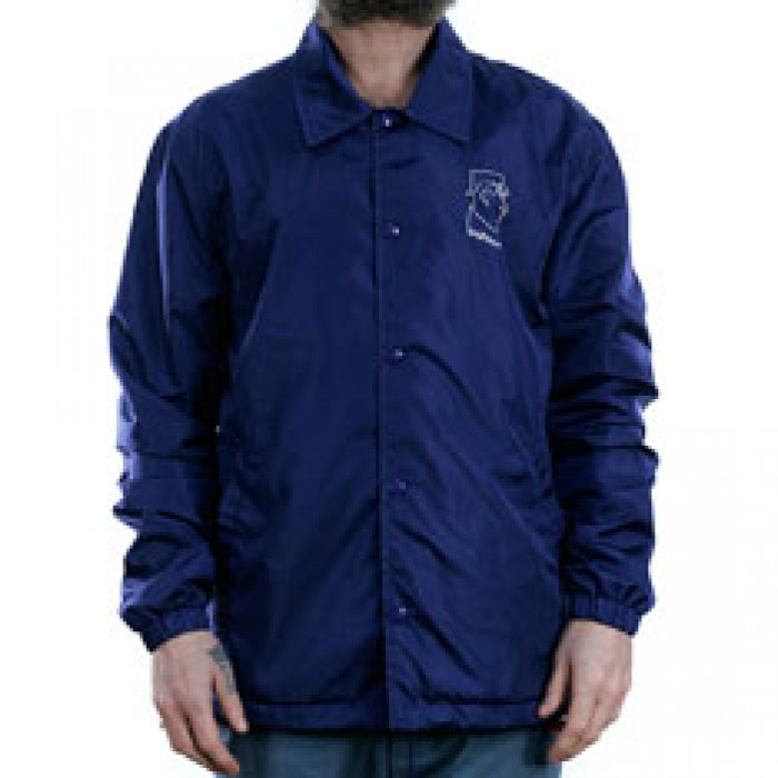 Polar Skate Co Doodle Coach Jacket Dane Navy