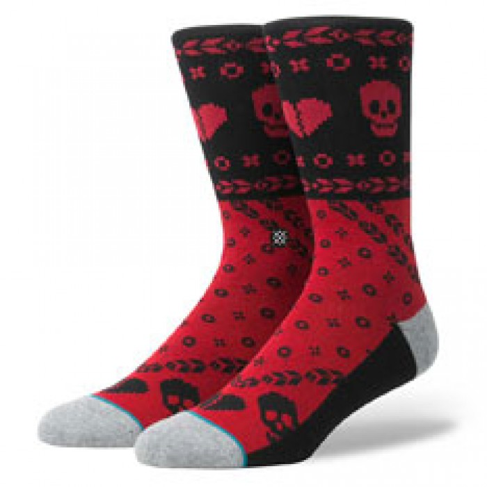 Stance Socks Heart Bandit Socks Red Large