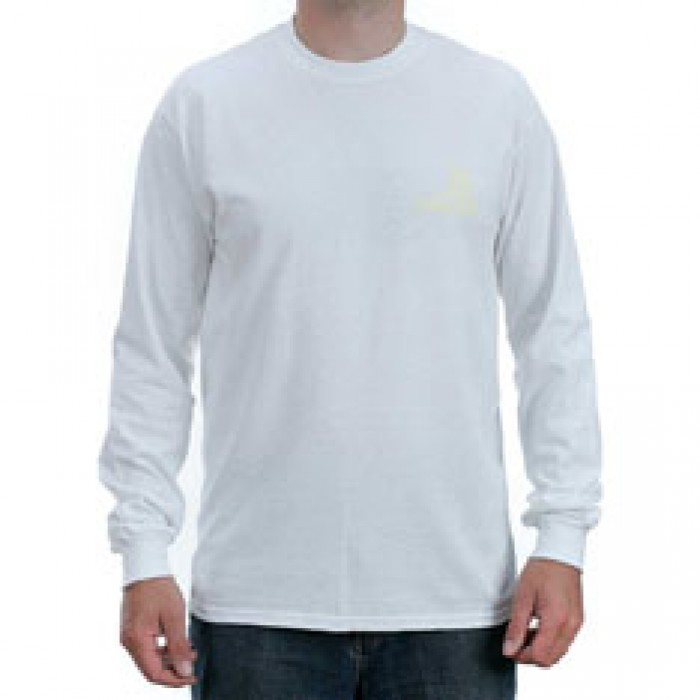 Story Collective Coop Longsleeved T-Shirt White