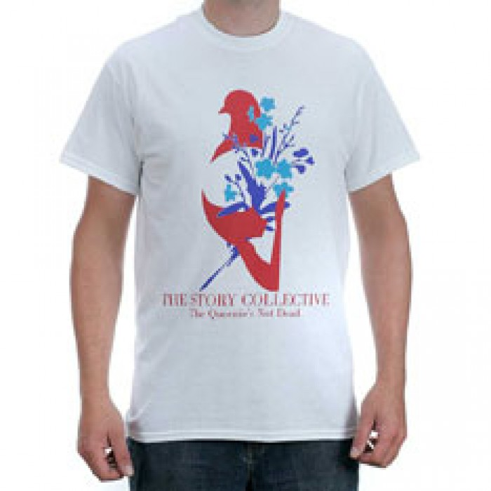 Story Collective Queenies Not Dead T-Shirt White