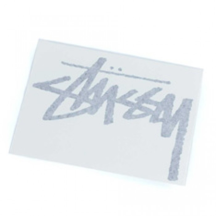 Stussy Original Stock Decal Sticker Black