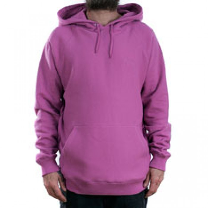 Stussy Stock Raglan Hooded Sweatshirt Pink
