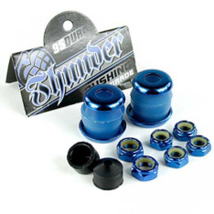 Thunder Rebuild Kit Blue 95a Bushings/Washers/Axle And Kingpin Nuts/Pivot Cups
