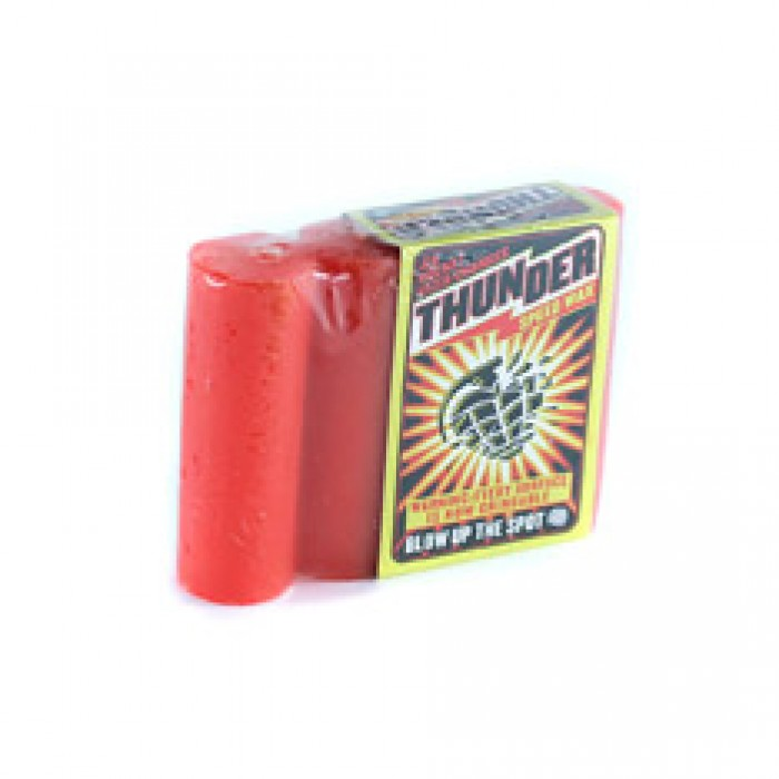 Thunder Skateboard Trucks Speed Wax Red
