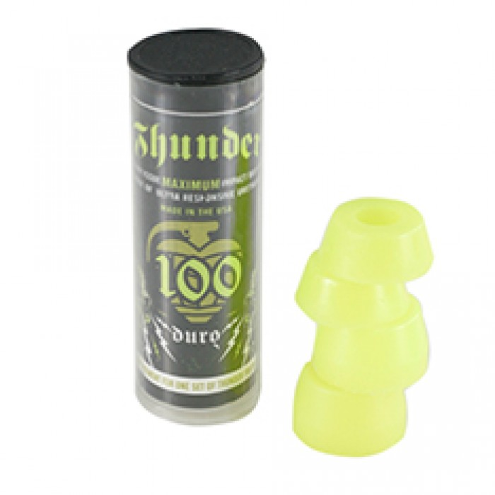 Thunder Skateboard Bushings Neon Yellow 100d