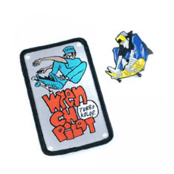 Turbo Kolor x Andy Jenkins Lettus Pin Hard Enamel Lapel Pin Badge