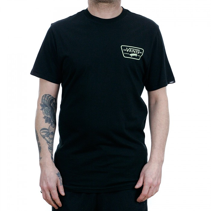f978c1b5150 Vans Full Patch Back T-Shirt Ambrosia Black