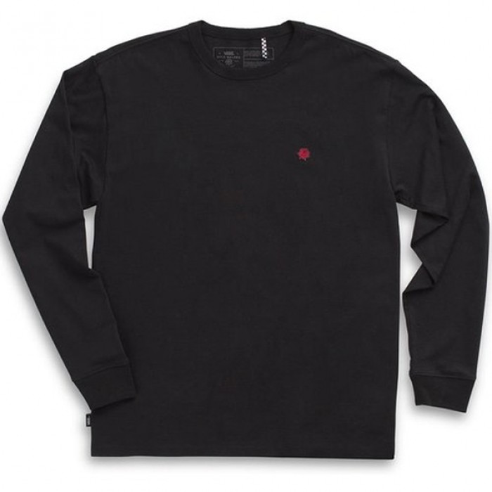 Vans x Kyle Walker Off The Wall Long Sleeved T-Shirt Black