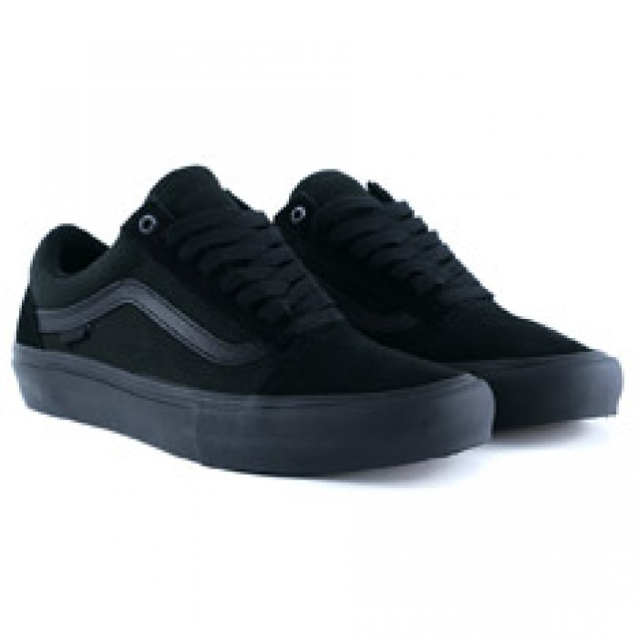 Vans Old Skool Pro Blackout Skate Shoes