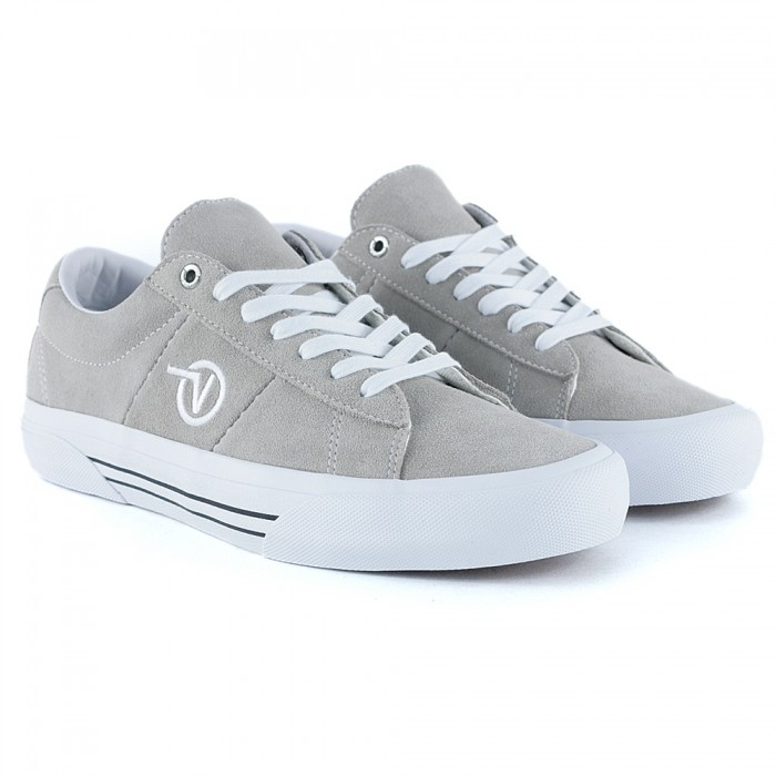 Vans Saddle Sid Pro Pure Cashmere Skate Shoes