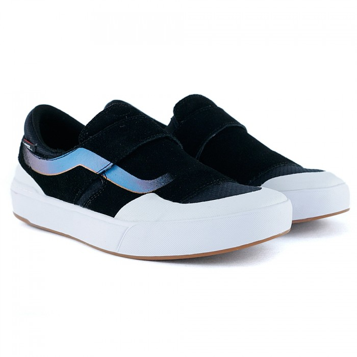 Vans Slip On EXP Pro Black White Primary Skate Shoes