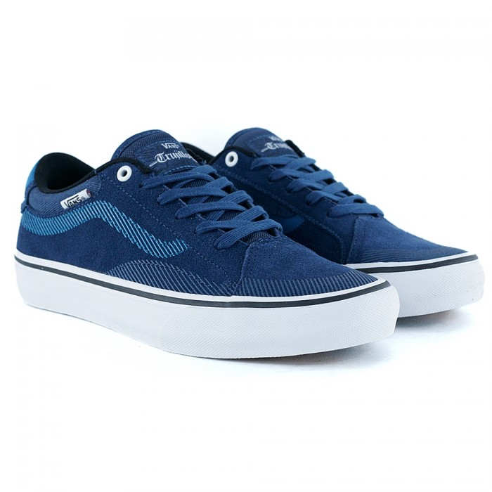 Vans TNT Advanced Prototype Twill Gibralter Sea Turkish Tile Skate Shoes