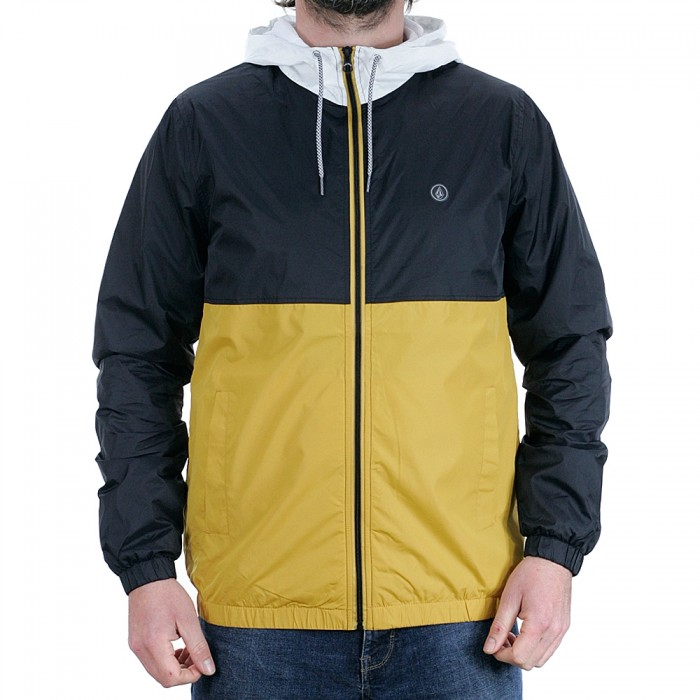 Volcom Ermont Hooded Jacket Gold
