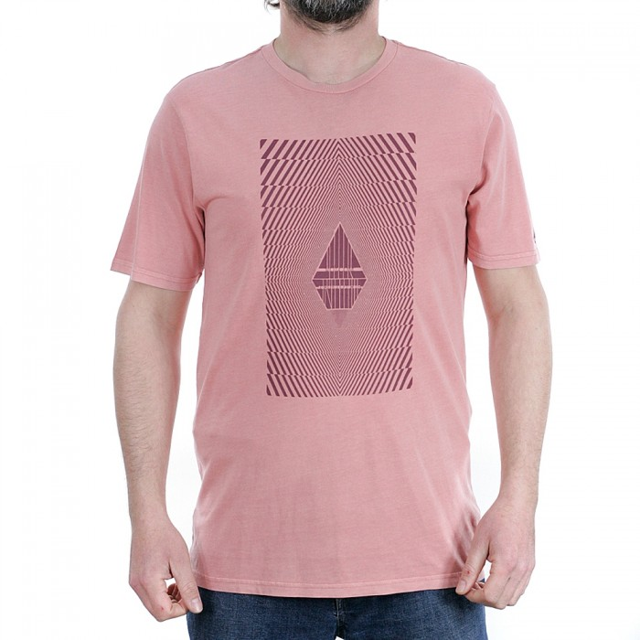 Volcom Floation Short Sleeved T-Shirt Sandstone