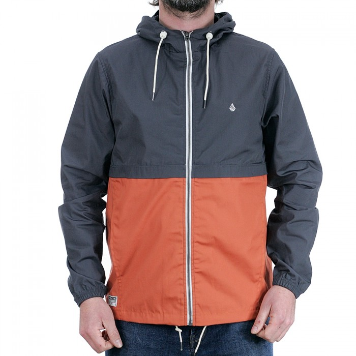 Volcom Howard Hooded Jacket Burnt Orange