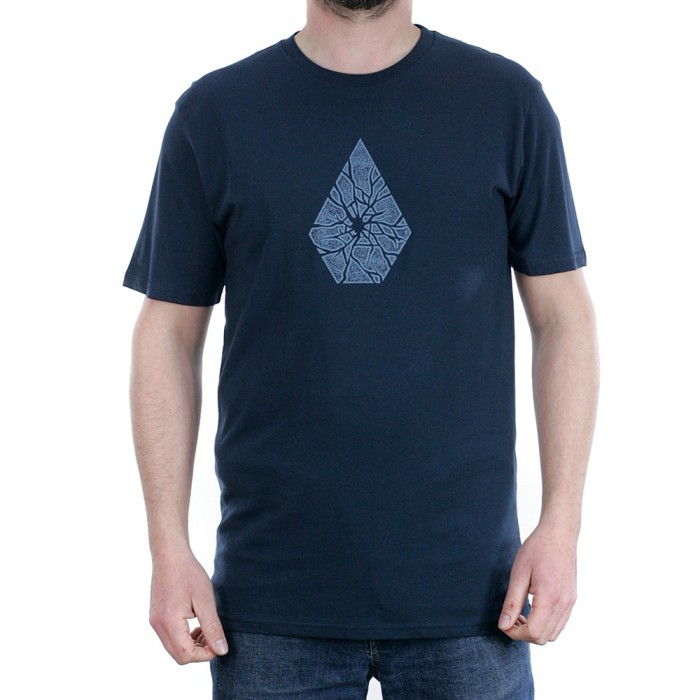 Volcom Shatter Short Sleeved T-Shirt Navy