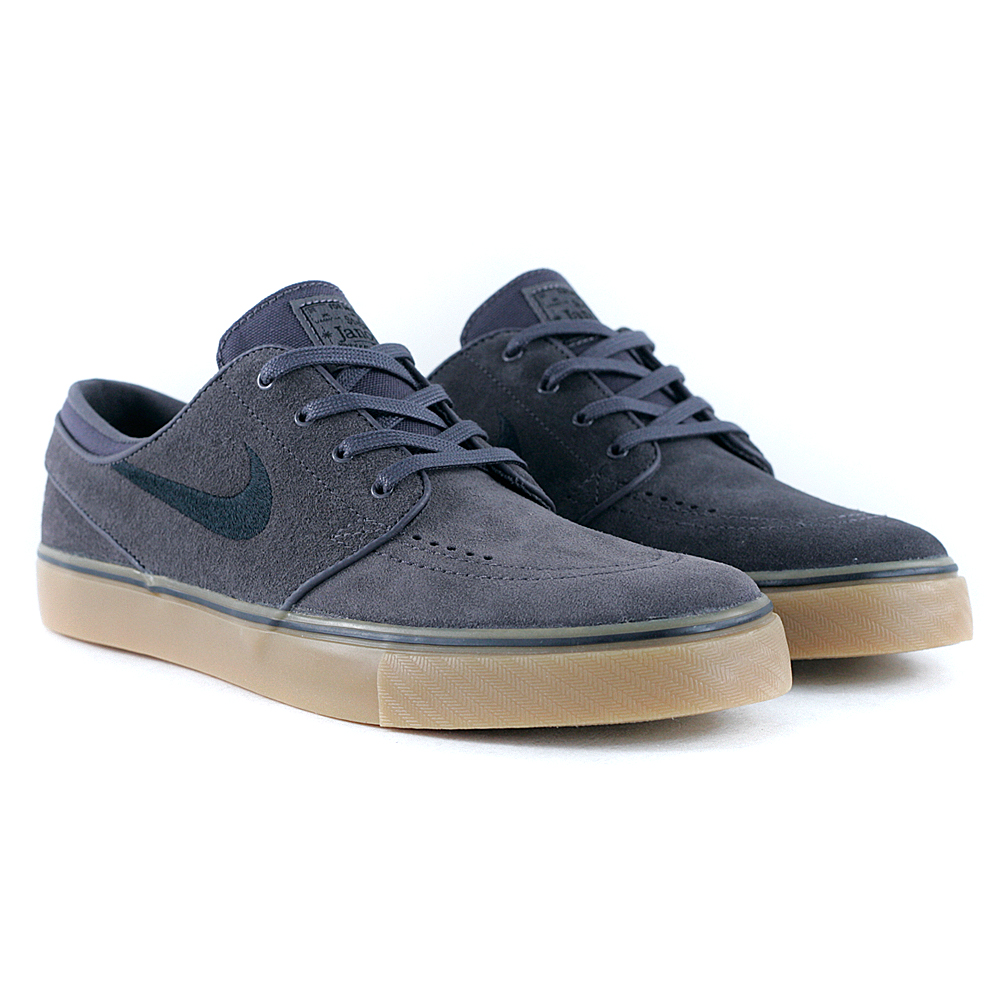 bbce456cfc4281 ... cheap for discount fc1aa 1d581 Nike Sb Janoski Suede Thunder Grey Black  Gum Light Brown at ...