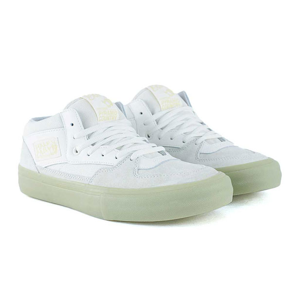 202091641fbed8 Vans x Pyramid Country Half Cab Pro White Glow Skate Shoes at Black Sheep  Skateboard Shop