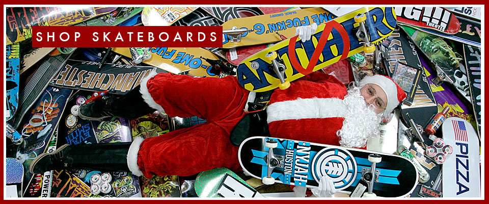 'Xmas skateboards event now on at Black sheep