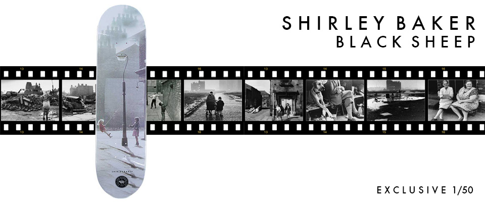 Black Sheep and Shirley Baker exclusive Collaboration