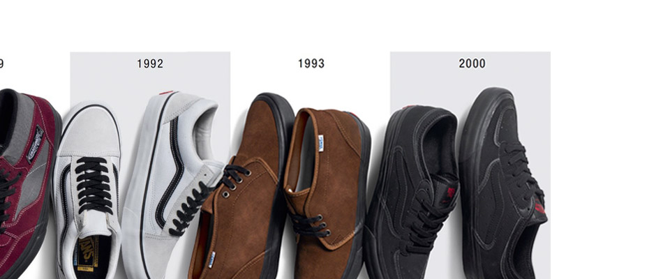 'Vans Shoes 50th Anniversary exclusive range of skate shoes