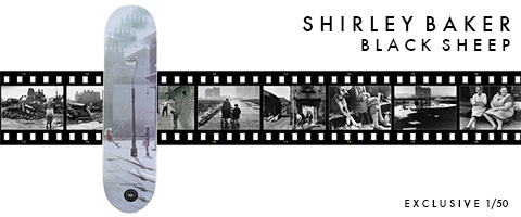 Black Sheep and Shirley Baker exclusive collaborationn