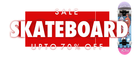 Skateboard Sale all month in January with all the top skateboard brands at the best prices