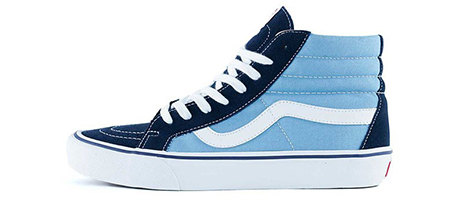 Vans 50th anniversary Sk8 hi top navy