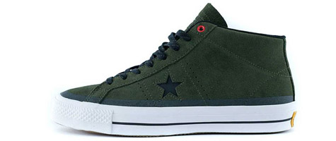 Converse one star mid pro skate shoes