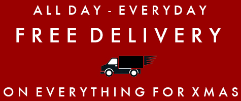Free delivery on everything for Christmas